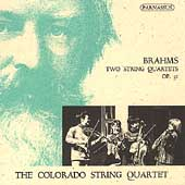 PACD 96007 Complete Contents Colorado String Quartet: Barhms, String Quartets, op. 51