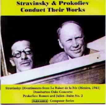 Complete Contents: PACD 96023 Prokofiev and Stravinsky conduct