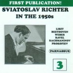 Richter Live in the 1950s Volume 3