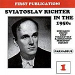 Richter Live in the 1950s Volume 1