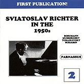 Sviatoslav Richter Live in the 1950s Volume Two