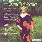 Danielle Woerner Sings the Songs of Luening and Starer