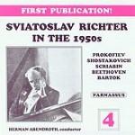 Sviatoslav Richter Live in the 1950s Volume Four