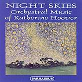 PACD 96019 Night Skies - Orchestral Music of Katherine Hoover