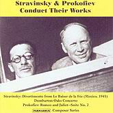 PACD 96023 Stravinsky & Prokofiev Conduct Their Works