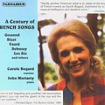 PACD 96036/37 Carole Bogard: A Century of French Songs