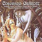 PACD 96024  - Colorado Quartet - Schubert and Mendelssohn