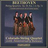 PACD 96034/5 - Colorado Quartet - Beethoven Late Quartets