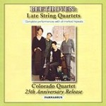 Colorado Quartet Late Beethoven String Quartets