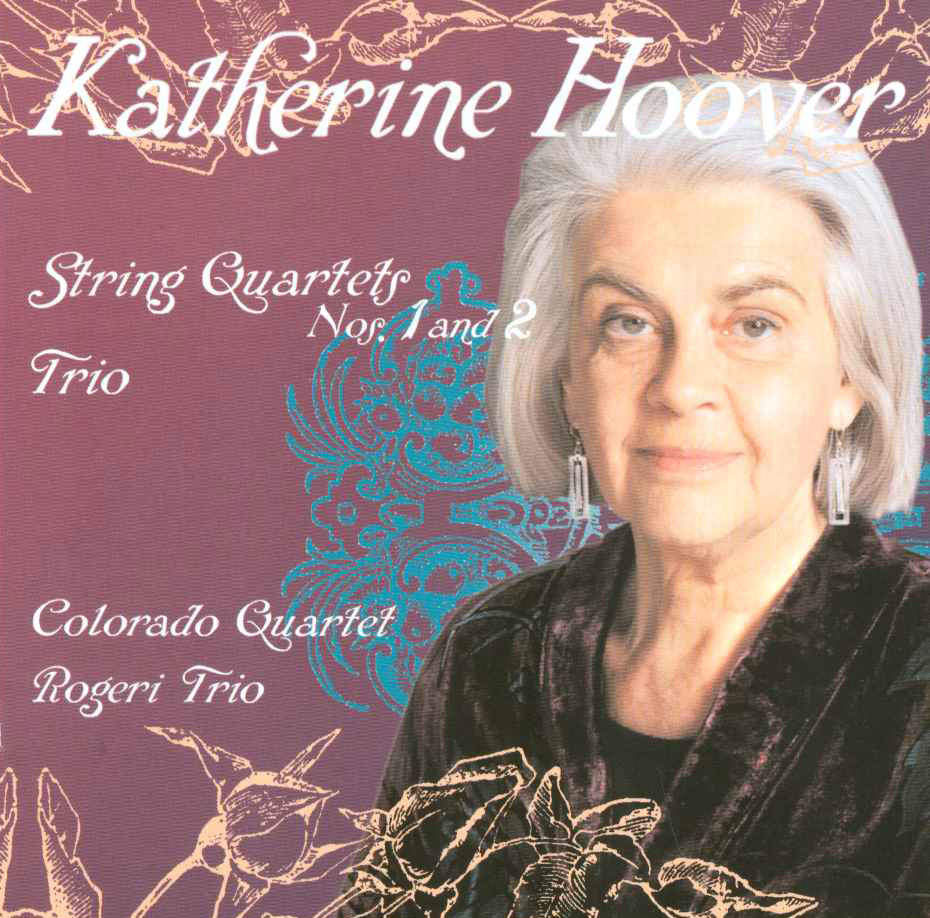 PACD96045 - Katherine Hoover - String Quartets and Trio