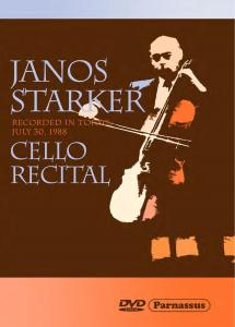 Janos Starker Cello Recital Parnassus PDVD 1202