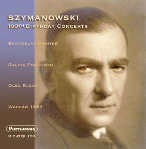 Richter 100 - Szymanowski - cover