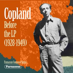 Copland: Before the LP front cover