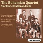 Bohemian Quartet - Smetana, Dvorak and Suk - Parnassus Records - PACD 96058