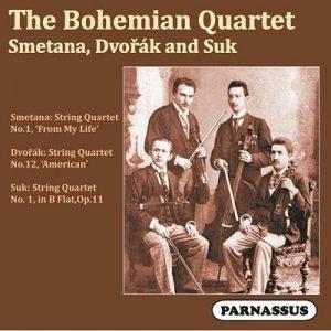 Bohemian Quartet - Smetana, Dvorak and Suk - Parnassus Records - PACD 96058