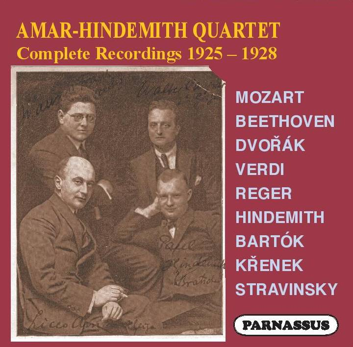 Amar-Hindemith Quartet: Complete Recordings – PACD 96070/2