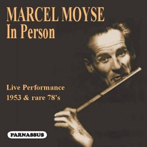 Marcel Moyse In Person PACD 96069 Front cover